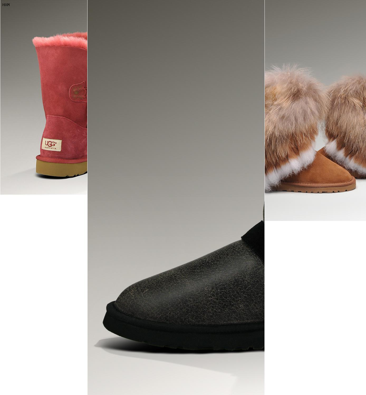 material de las botas ugg